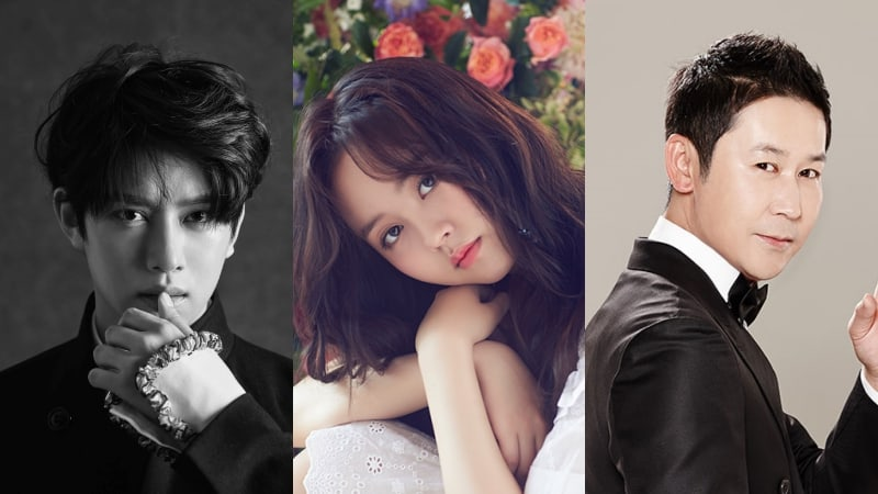 Kim Heechul, Kim So Hyun y Shin Dong Yup serán los MCs de los 27th Seoul Music Awards