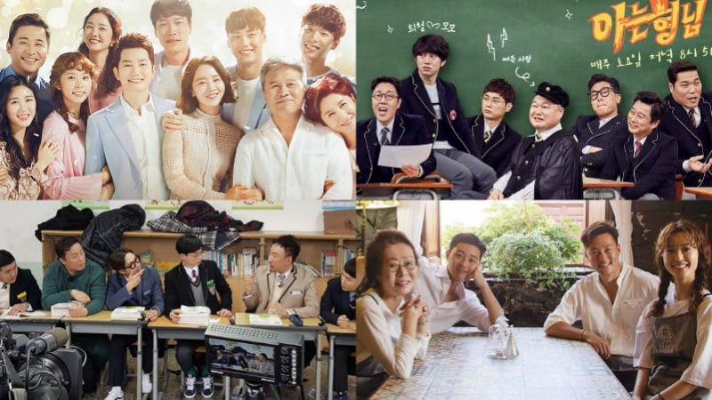 Los coreanos eligen sus programas de televisión favoritos de enero