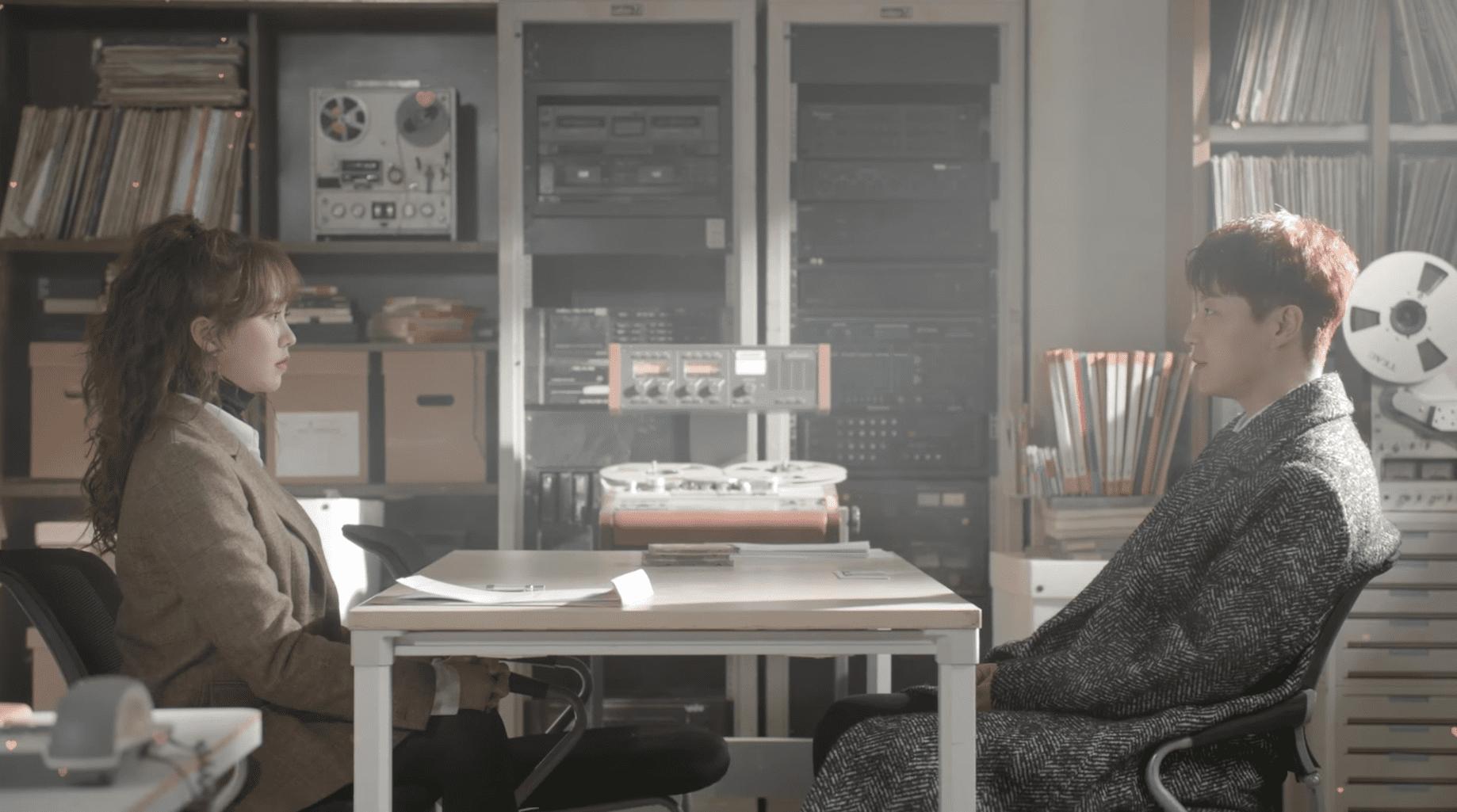 Yoon Doojoon y Kim So Hyun aumentan los problemas del otro en el trailer de 'Radio Romance'