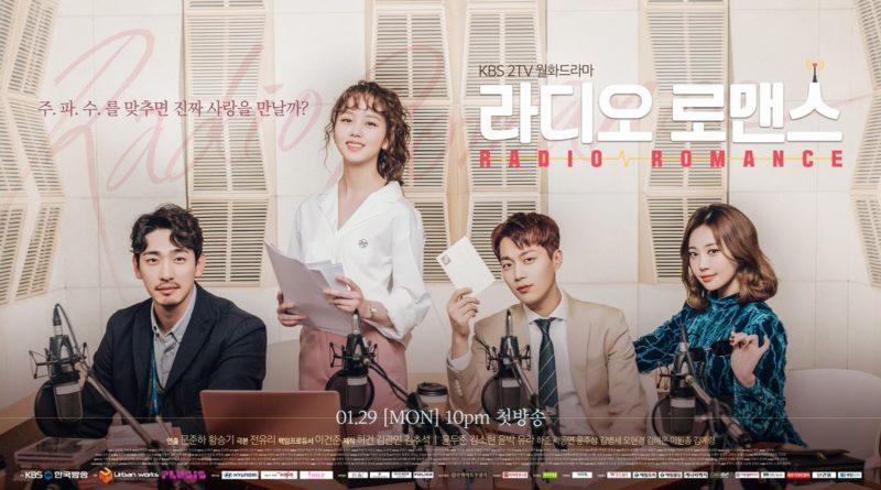 """""""Radio Romance"""" comparte póster de grupo oficial del elenco principal antes de su estreno"""