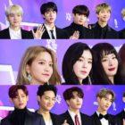 Estrellas impresionan en la alfombra roja de los 27th Seoul Music Awards
