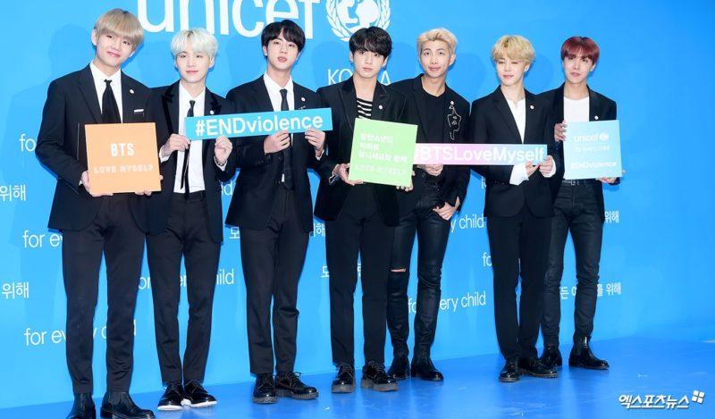 """BTS dona las ganancias de sus nuevos emoticonos a la campaña """"Love Myself"""" de UNICEF"""