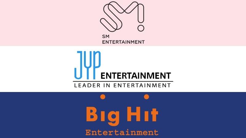 SM, JYP y Big Hit lanzarán una compañía conjunta de música