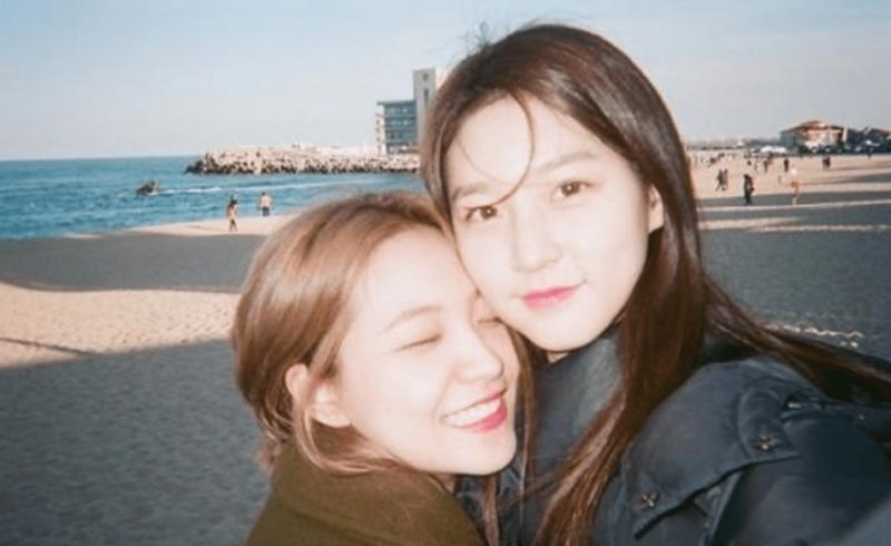 Kim Sae Ron comparte dulces fotos de su viaje con Yeri de Red Velvet
