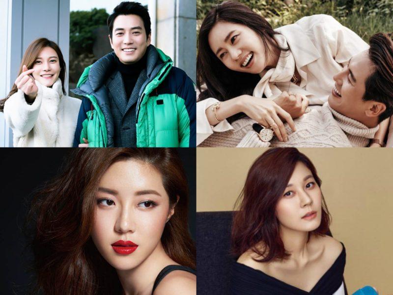 Actrices coreanas que esperan a su primer hijo este año