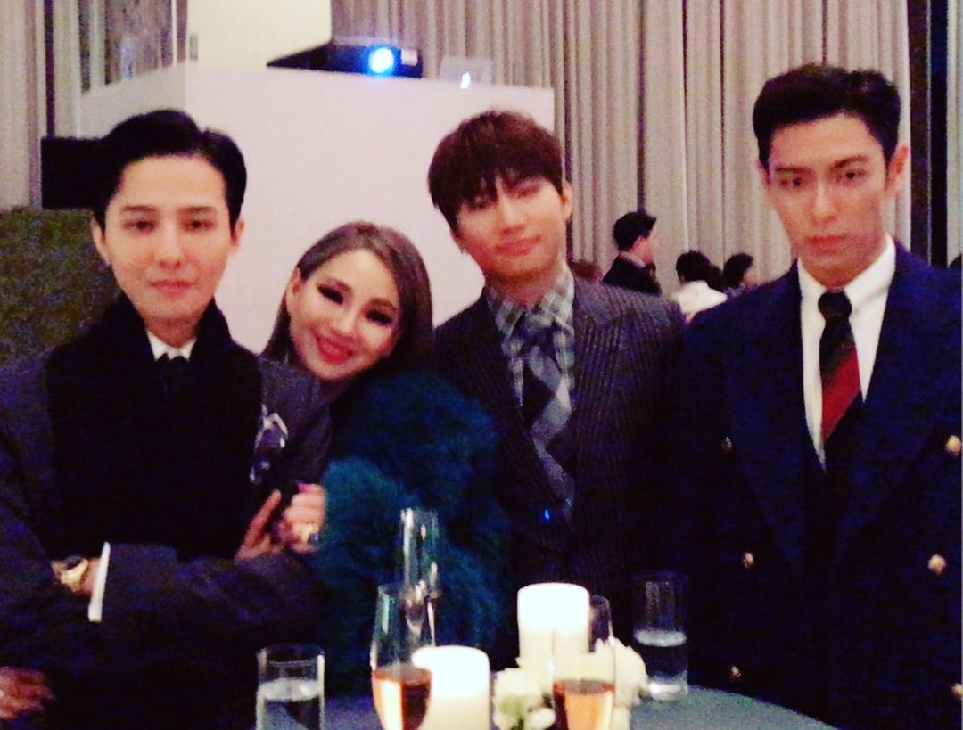 CL comparte fotos tomadas en la boda de Taeyang y Min Hyo Rin