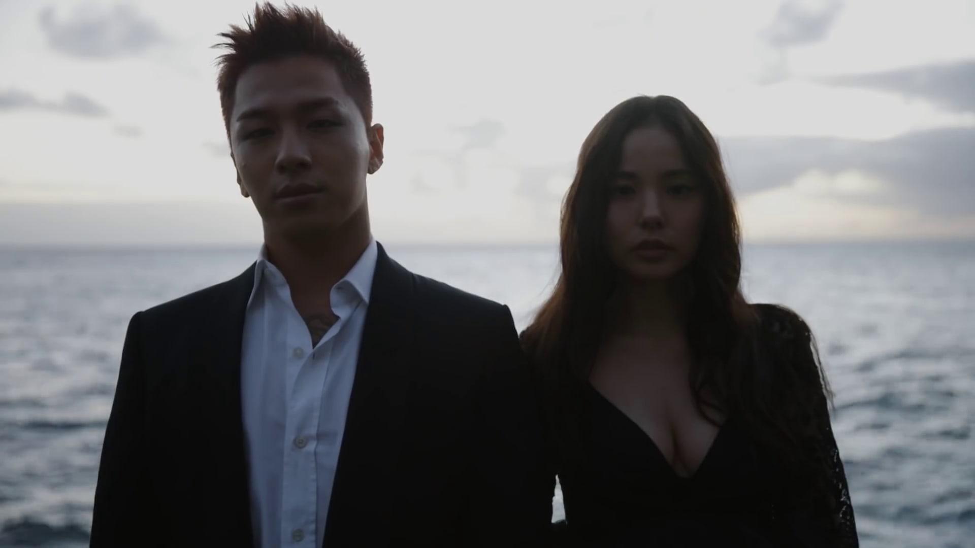 Taeyang y Min Hyo Rin deslumbran en video de su sesión de pareja