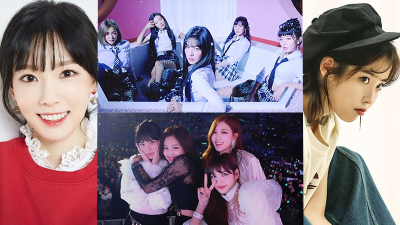 Red Velvet describe su adorable amistad con BLACKPINK, Taeyeon, IU y más