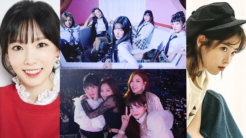 Red Velvet describe su adorable amistad con BLACKPINK, Taeyeon, IU y más