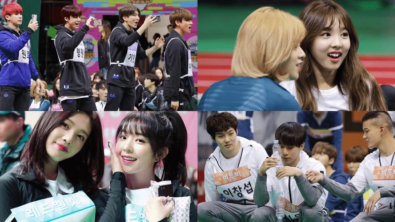 """""""2018 Idol Star Athletics Championship"""" revela fotos de su evento en pista y cancha"""