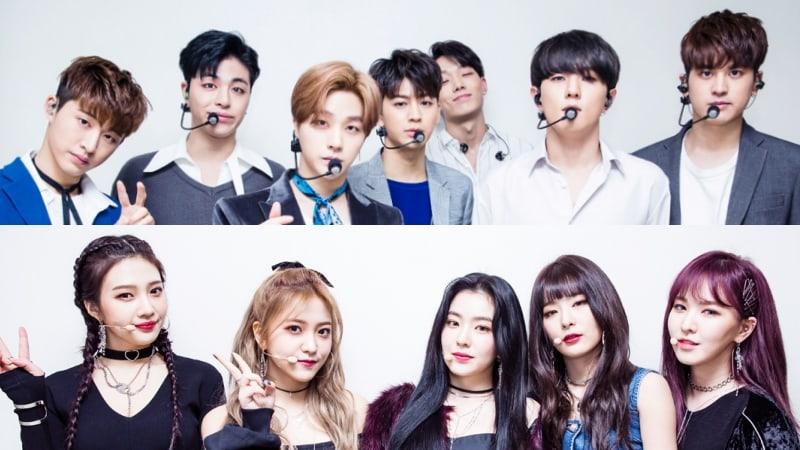 iKON y Red Velvet, entre otros, lideran las listas semanales de Gaon