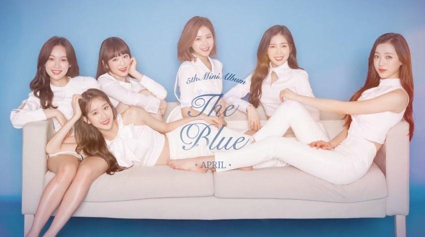 """[Actualizado] APRIL da una vista previa de todas sus nuevas canciones de """"The Blue"""" en un destacado medley"""