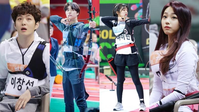 """2018 Idol Star Athletics Championships"" revela fotos del evento de tiro al arco"