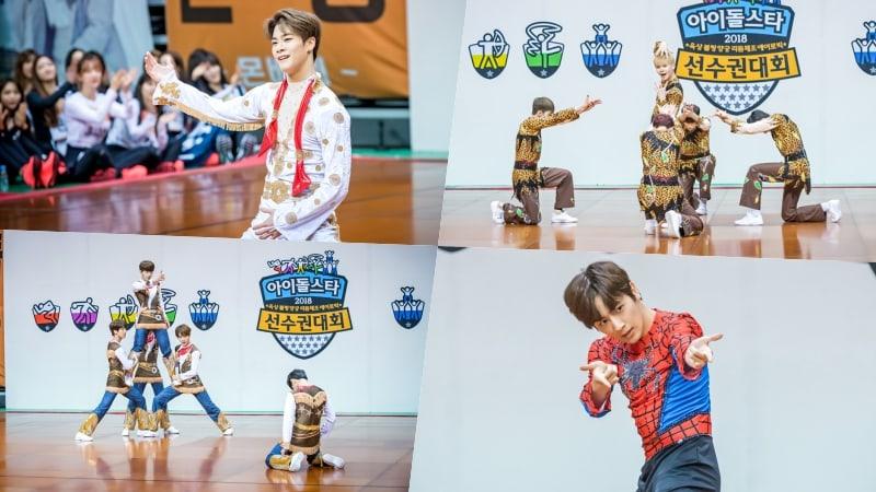 """Los ídolos muestran su creatividad y talento en fotos del evento de aerobics del """"2018 Idol Star Athletics Championships"""" reveladas"""