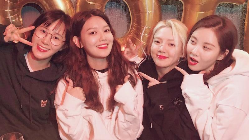 Sooyoung de Girls' Generation comparte dulces fotos de su fiesta de cumpleaños