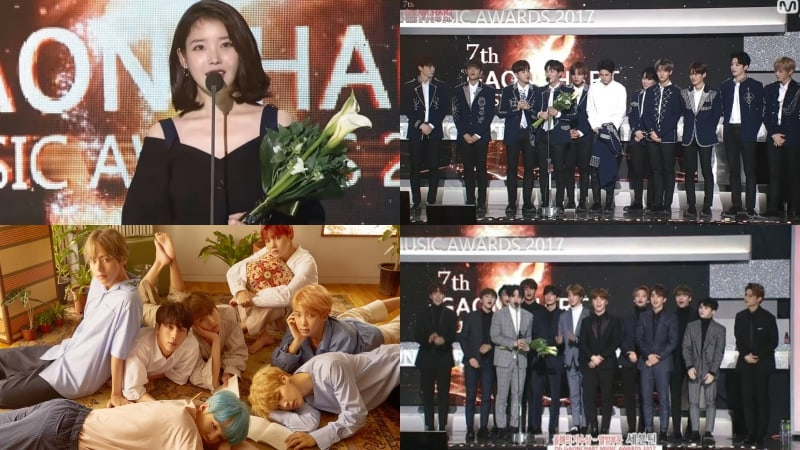 "Ganadores de los ""7th Gaon Chart Music Awards"""