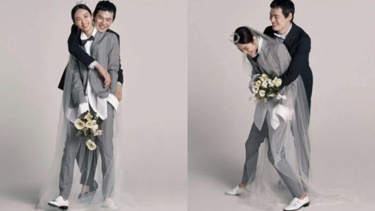 La pareja de modelos Kim Won Joong y Kwak Ji Young comparten historia romántica sobre su compromiso