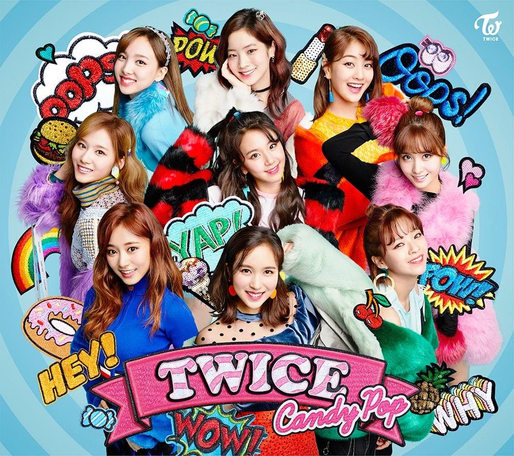 """TWICE llega a lo más alto de la lista Hot 100 de Billbord Japan y la lista semanal de singles de Oricon con """"Candy Pop"""""""