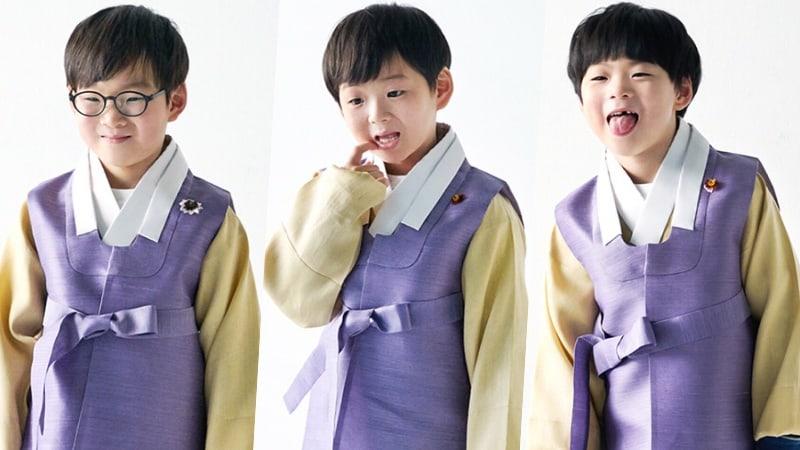 Song Il Gook comparte un dulce saludo de Año Nuevo Lunar de los trillizos Song