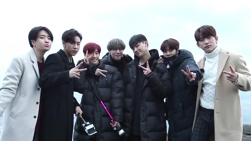GOT7 se embarca en unas vacaciones de trabajo en el trailer para su nuevo reality show