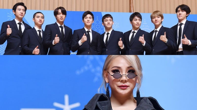 KBS libera material de EXO y CL ensayando para la ceremonia de clausura de las Olimpiadas de PyeongChang