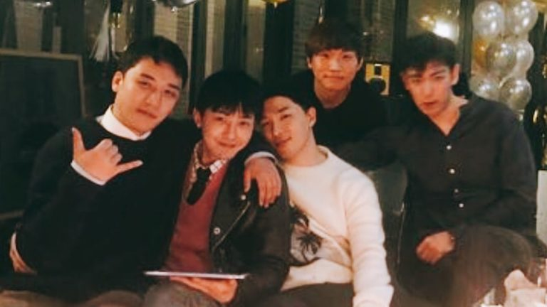 BIGBANG disfruta del tiempo juntos antes de su próximo alistamiento