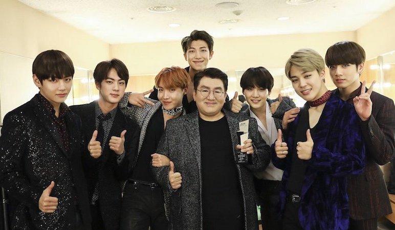 Bang Shi Hyuk comparte historias sobre el viaje de BTS hacia el éxito