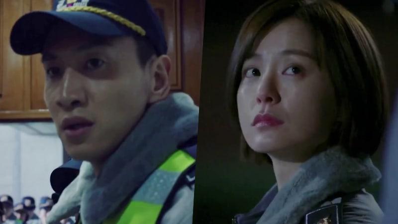 """Lee Kwang Soo y Jung Yoo Mi pasan por un entrenamiento arduo de policía en el avance de """"Live"""""""