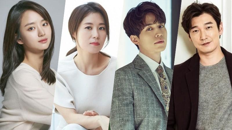 Won Jin Ah y Moon So Ri se unen a Lee Dong Wook y Cho Seung Woo en un nuevo drama de JTBC