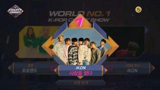"""iKON obtiene quinta victoria para """"Love Scenario"""" en """"M!Countdown"""" – Presentaciones de Sunggyu, NCT U, CLC y más"""