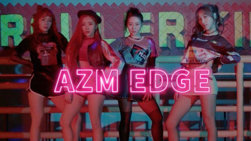 """El nuevo grupo femenino AZM debuta con vídeo musical para """"Edge"""""""