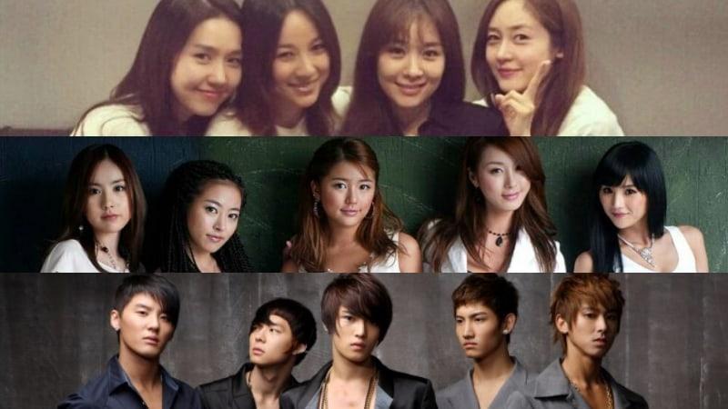 Coreanos votan por el grupo ídolo que les gustaría ver reunido en una presentación
