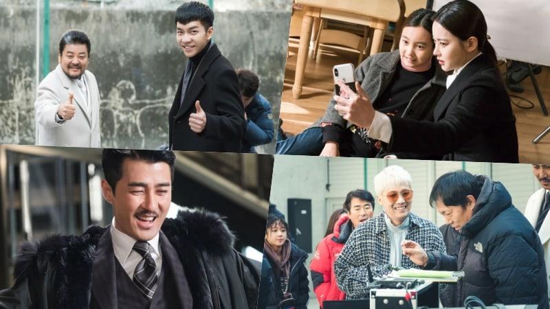"""El elenco de """"Hwayugi"""" trabaja duro pero se divierte en el set en las nuevas imágenes del detrás de cámaras"""