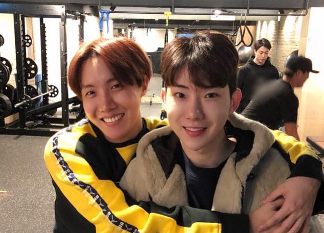 J-Hope de BTS y Jo Kwon se reúnen y comparten dulces fotos