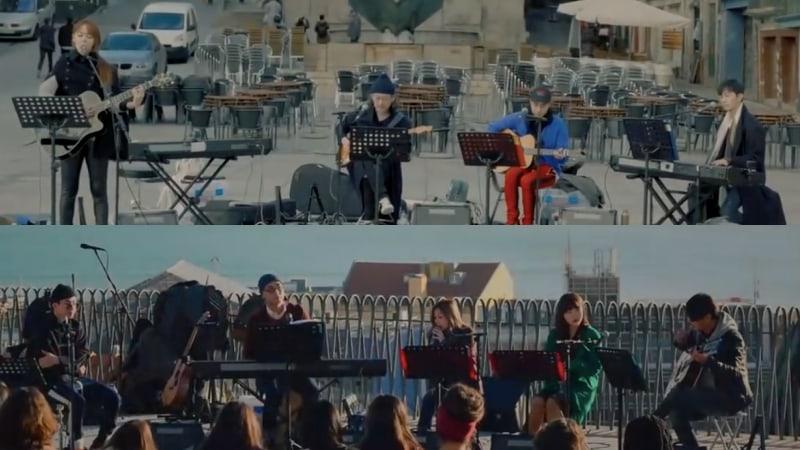 """""""Begin Again 2"""" libera nuevos teasers de cantantes presentándose en Europa"""