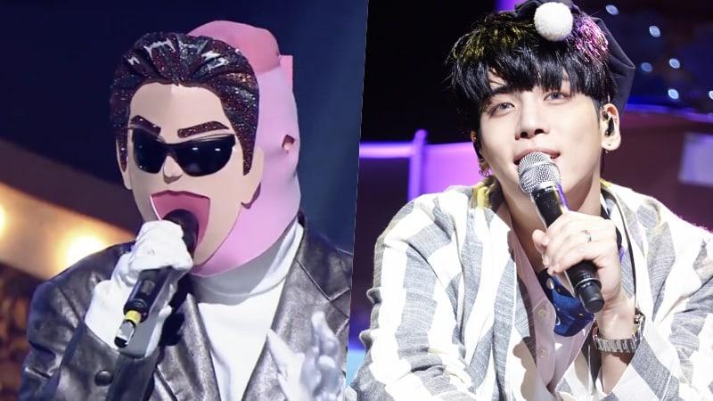 """Talentosa vocalista dedica su presentación a su amigo cercano Jonghyun de SHINee en """"King Of Masked Singer"""""""