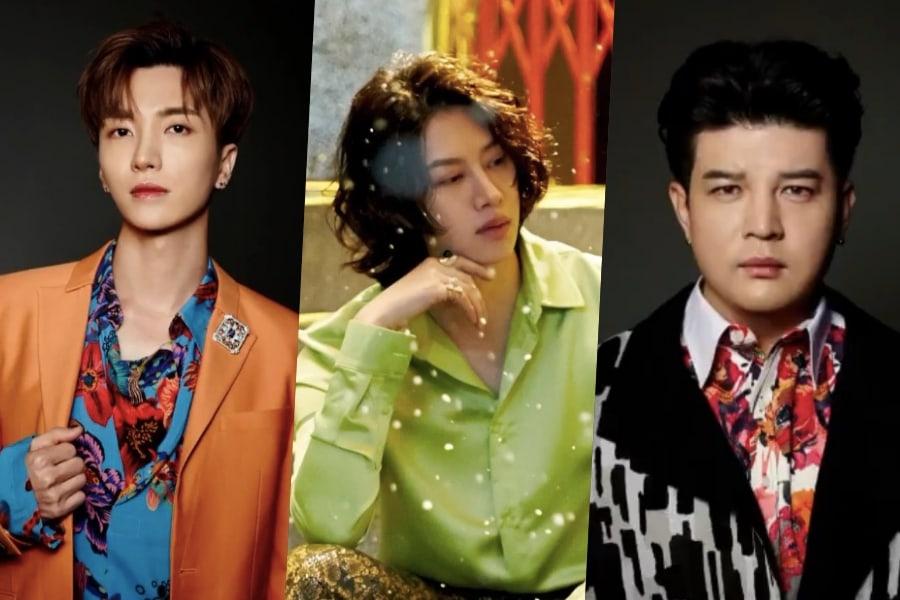 [Actualizado] Super Junior comparte nuevos clips de regreso con Leeteuk, Heechul y Shindong