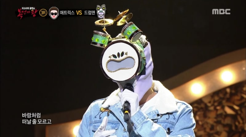"""Vocalista principal de un grupo masculino muestra su poderosa voz en """"King of Masked Singer"""""""