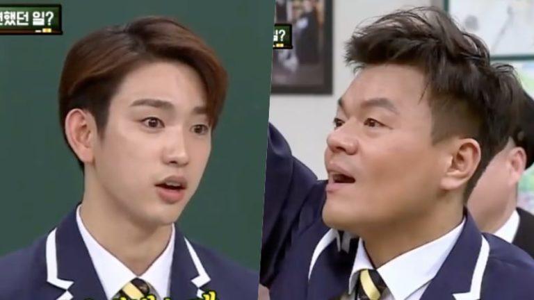 Jinyoung de GOT7 revela el desafortunado problema de tener el mismo nombre que el fundador de JYP, Park Jin Young