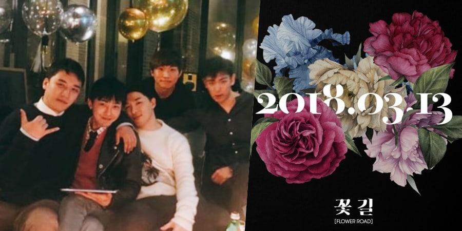 """BIGBANG impresiona como 5 con el nuevo single """"Flower Road"""""""