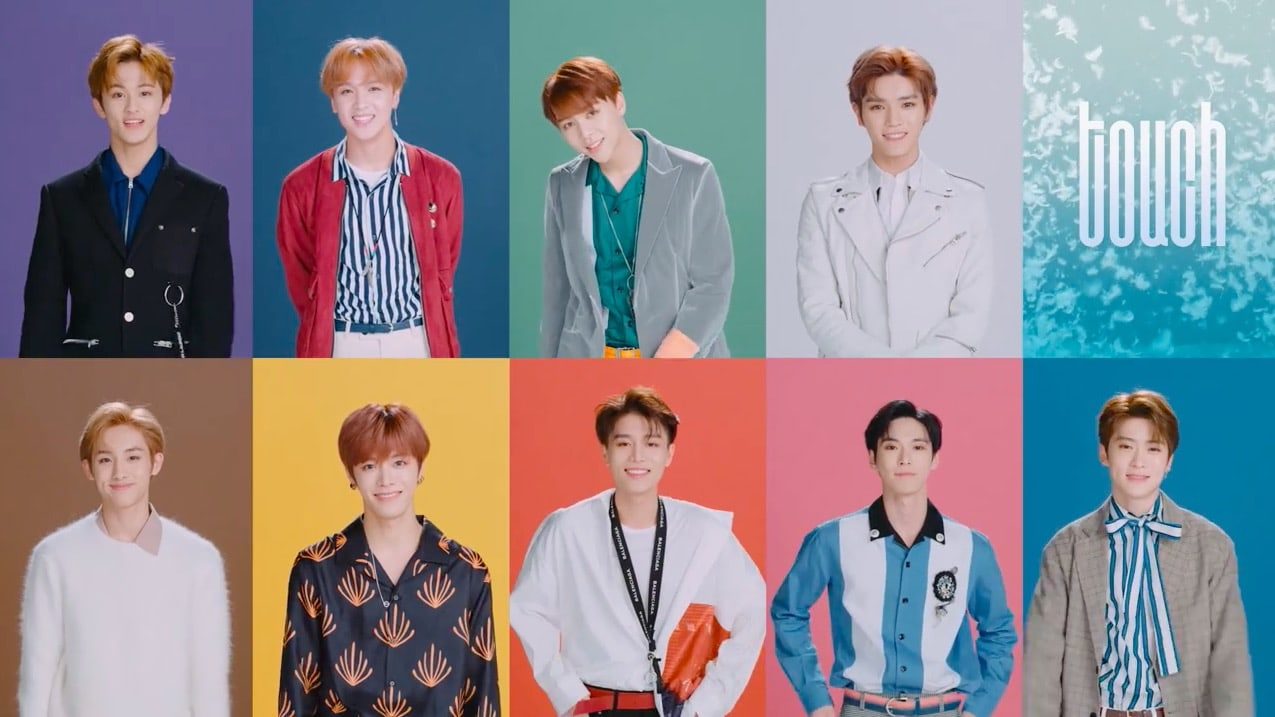 "NCT 127 revela un dulce video musical para ""Touch"""