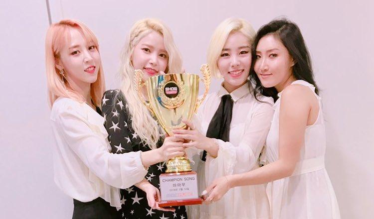 """MAMAMOO consigue su segunda victoria con """"Starry Night"""" en """"Show Champion"""" y actuaciones de Ilhoon, CLC, SF9 y más"""
