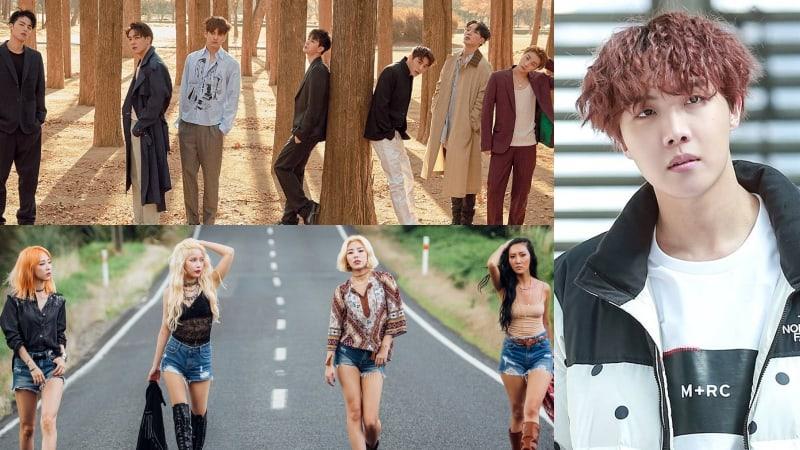 iKON, MAMAMOO y J-Hope de BTS encabezan la lista semanal de Gaon
