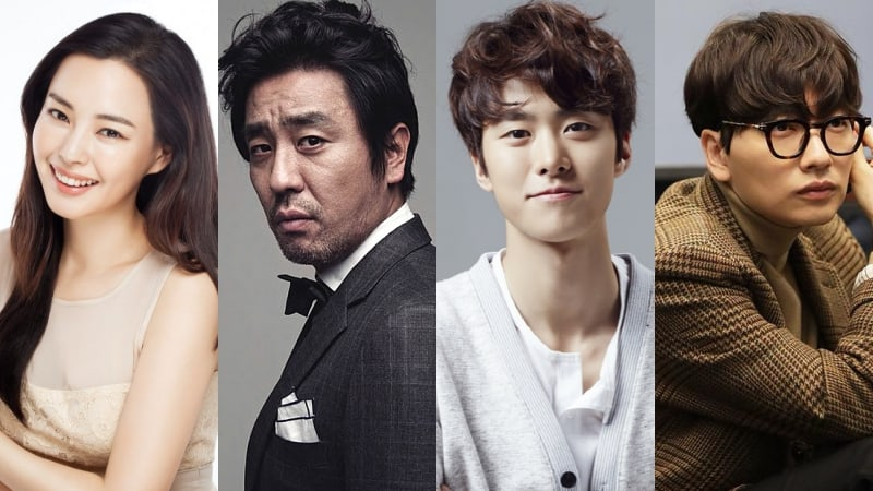 Honey Lee, Ryu Seung Ryong, Gong Myung, Lee Dong Hwi son confirmados para una nueva película cómica