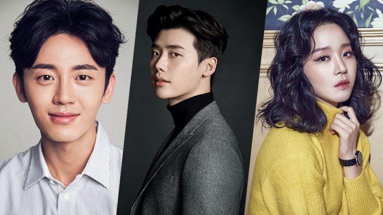 Lee Ji Hoon, Lee Jong Suk y Shin Hye Sun estarán juntos en un próximo drama