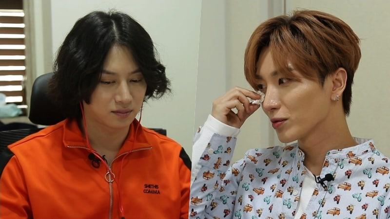 Leeteuk de Super Junior derrama lágrimas mientras habla sobre su lucha como líder