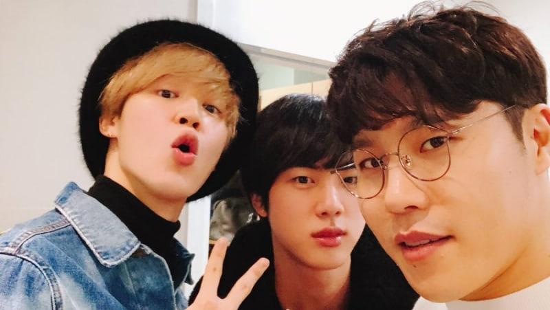 Jimin y Jin de BTS sorprenden a Lee Hyun para su regreso