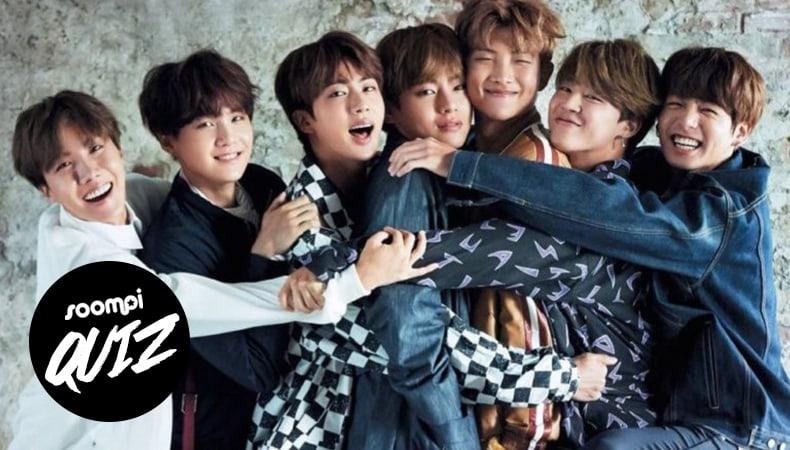 Prueba: ¿Qué miembro de BTS es tu mejor amigo?