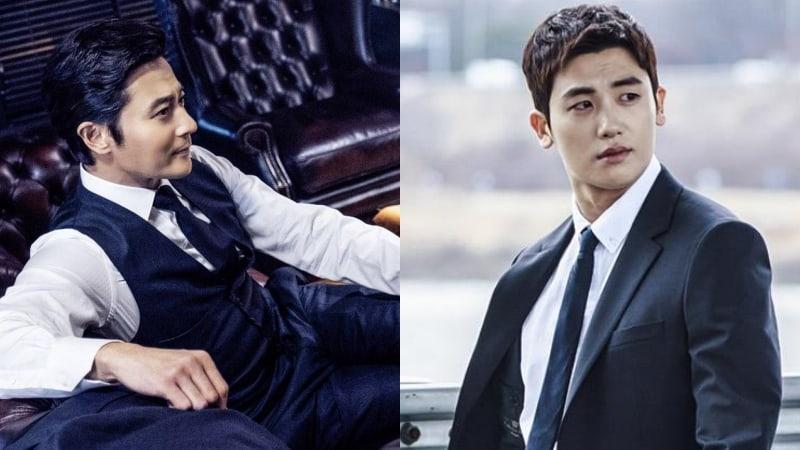 """Jang Dong Gun y Park Hyung Sik son guapos abogados en primeras imágenes de próximo remake coreano de """"Suits"""""""