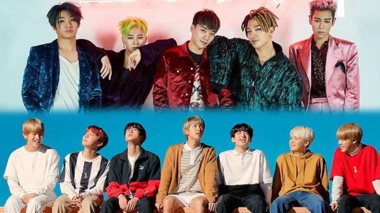 10 veces en las que los integrantes de BTS no pudieron ocultar sus sentimientos de fanboys por BIGBANG